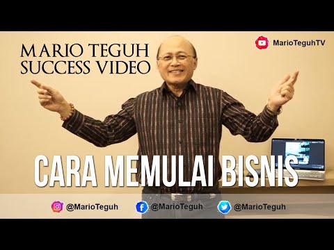 Cara Memulai Bisnis - Mario Teguh Success Video