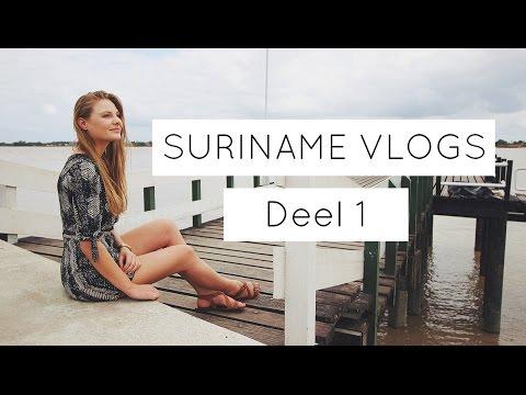 Suriname vlog 1 - Vliegen, bioscoop voor 2,50 en food shoplog