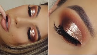 GOLD BOMB AF CUT CREASE TUTORIAL !!