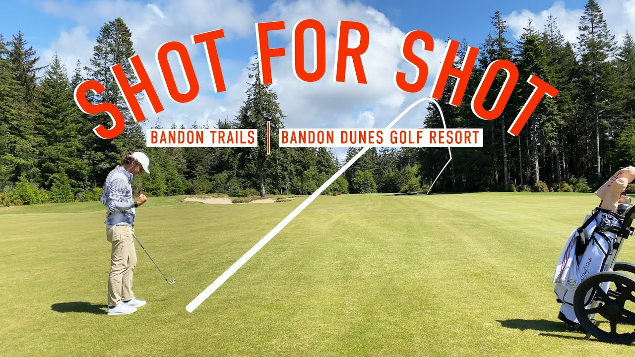 Every Shot at Bandon Trails - Front 9 - Bandon Dunes Golf Resort - EAL Course Vlog