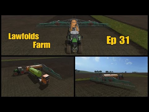 Let's Play Farming Simulator 17 PS4: Lawfolds Farm, Ep 31