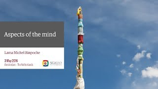 Aspects of the mind according to Buddhism, Lama Michel Rinpoche - Amsterdam (subtitles: EN-NL)