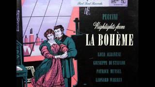 Puccini / Licia Albanese / Giuseppe Di Stefano, 1953: Sono Andati? (Boheme, Act IV)