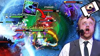 WTF JUST HAPPENED? SUPER EPIC RUBICK PLAYS BY TNC.TIMS - CRAZY WOMBO COMBO STOLEN BLACKHOLE DOTA 2