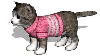 СИМУЛЯТОР Маленького КОТЕНКА #14 семья котиков в развлекательном видео от КИДА #ПУРУМЧАТА