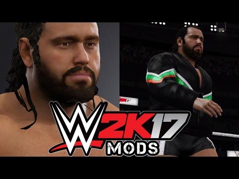 WWE 2K17 PC MOD - Rusev - Updated Attire & Beard (Entrance)