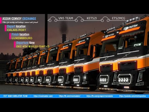 ASEAN CONVOY EXCHANGE - Euro Truck Simulator 2 Multiplayer O