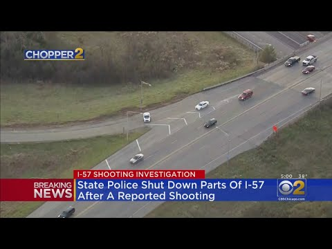 Chris Michaels - Part Of I-57 Shut Down After Reported Shooting