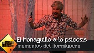 El Monaguillo hace una demostración convirtiéndose en 'Psicosis' - El Hormiguero 3.0