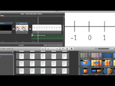 GOHmath iMovie Video Editor Internship Instruction Video ~ GOHmath.com