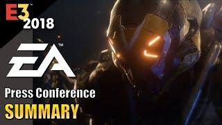 E3 2018: EA Games | Summary