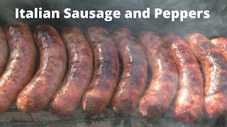Italian Sausage & Peppers Recipe | How To Grill Italian Sausage Malcom Reed Howtobbqright
