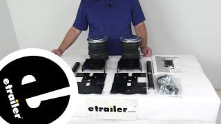 Air Lift Vehicle Suspension - Rear Axle Suspension Enhancement - AL57228 Review - etrailer.com