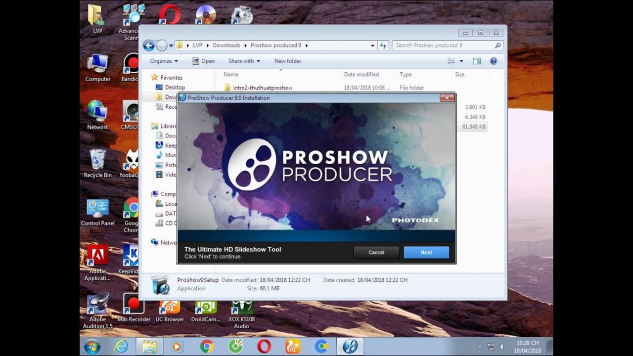 proshow producer full crack không có chữ vàng
