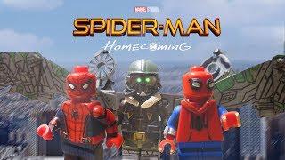 Lego Spider-Man Homecoming Custom Minifigures