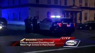 Manchester police investigate officer-involved shooting