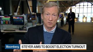 Billionaire Steyer Says He's Doubling Down on Impeaching Trump