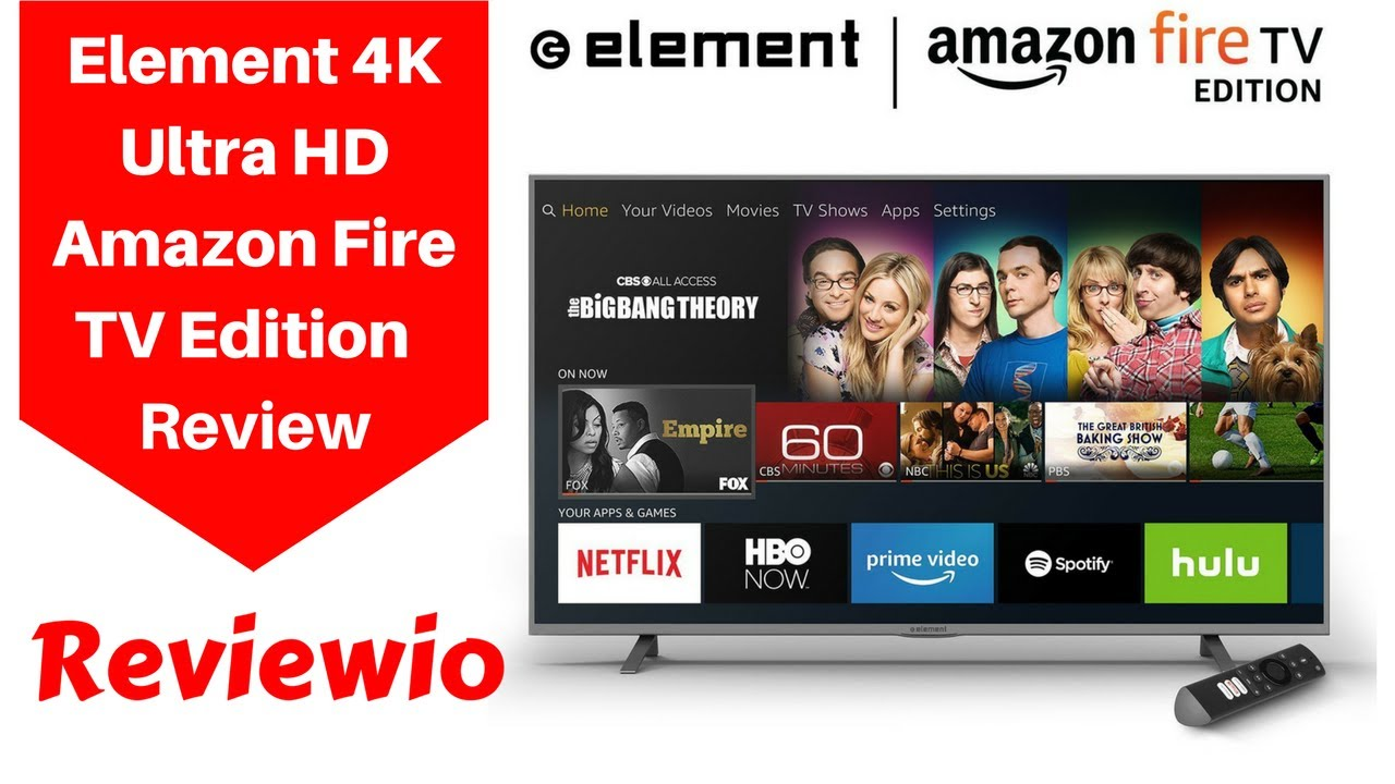 Element 4K Ultra HD Smart LED TV Amazon Fire TV Edition Review  YouTube