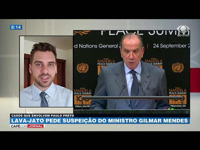 Lava-Jato pede suspeição do ministro Gilmar Mendes