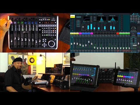 X TOUCH Live Broadcast - Controlling X AIR Digital Mixers