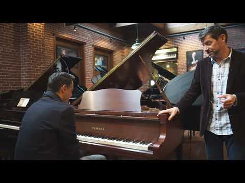 Yamaha Grand Piano Model C3 (Conservatory Series)