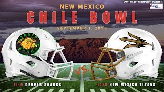 Football - New Mexico Chile Bowl 2018