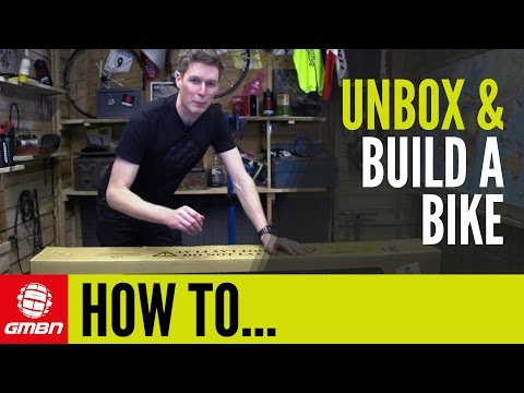 How To Build Your New Mountain Bike From The Box | Mountain Bike Maintenance