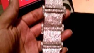 DIAMOND CUSTOM MONEY MAYWEATHER BRACELET. $1,000 Thumbnail