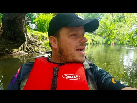 KAYAKING THE THAMES  // PART ONE 'COUNTRY'