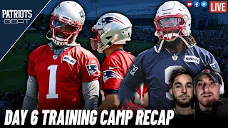 LIVE Patriots Beat: Training Camp Day Six Observations