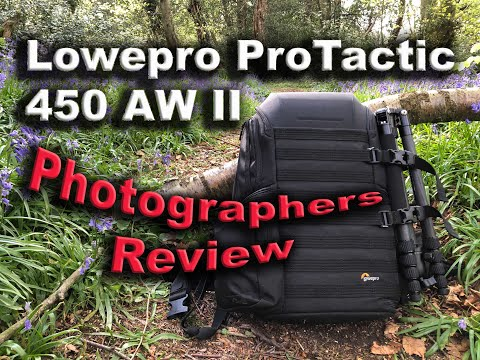 Photographers Review of the Lowepro Protatic 450 AW II
