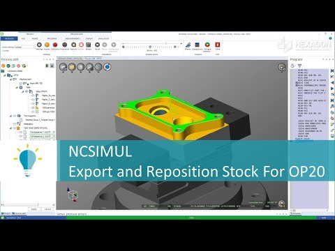 Setup The Next Operation in NCSIMUL | Tutorial