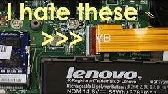 Lenovo Thinkpad Yoga 14 Disassembly /DC jack replacement