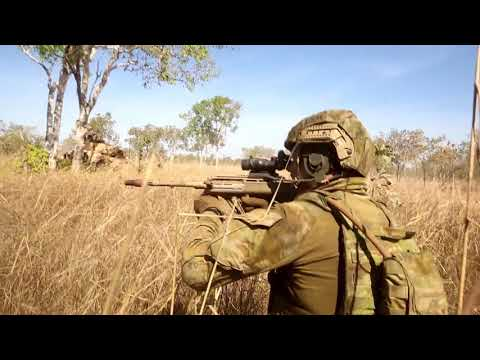 U.S. Marines and Australian Forces in firefight (Talisman Saber 17 )