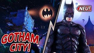 MORGEN NEUE STADT GOTHAM CITY?🦇🔥 | BATMAN X FORTNITE | BATMAN SKIN | Fortnite battle royale