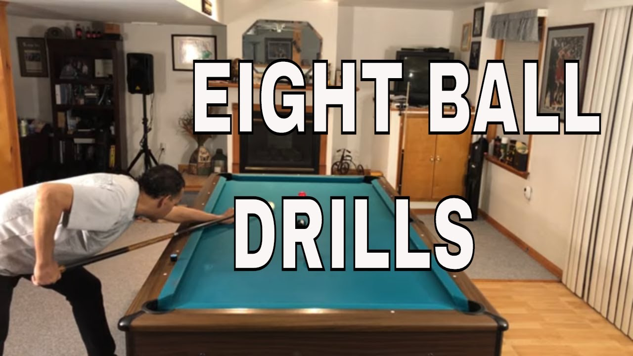 EIGHT BALL DRILLS - 4 DRILLS TO TAKE YOUR GAME FROM INTERMEDIATE TO ADVANCED (8 BALL POOL LESSONS)