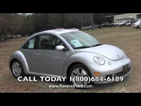 2002 VOLKSWAGEN BEETLE TURBO Review * Charleston Car Videos * For Sale @ Ravenel Ford