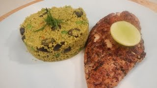 Chicken with Herbed Couscous