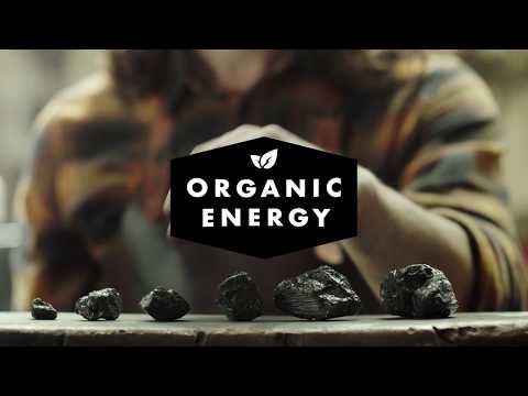Organic Energy: 100% authentieke kolenenergie