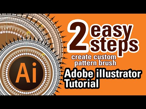 Custom Pattern Brush: Adobe Illustrator Tutorial thumbnail