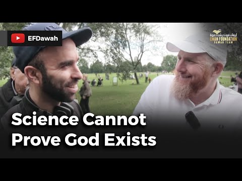 Science Cannot Prove God Exists