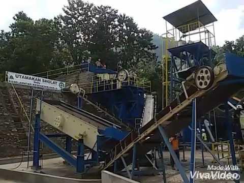 Galena Processing Plant Test Run