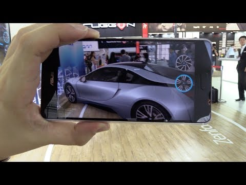 ASUS ZenFone AR - BMW Augmented Reality Demo