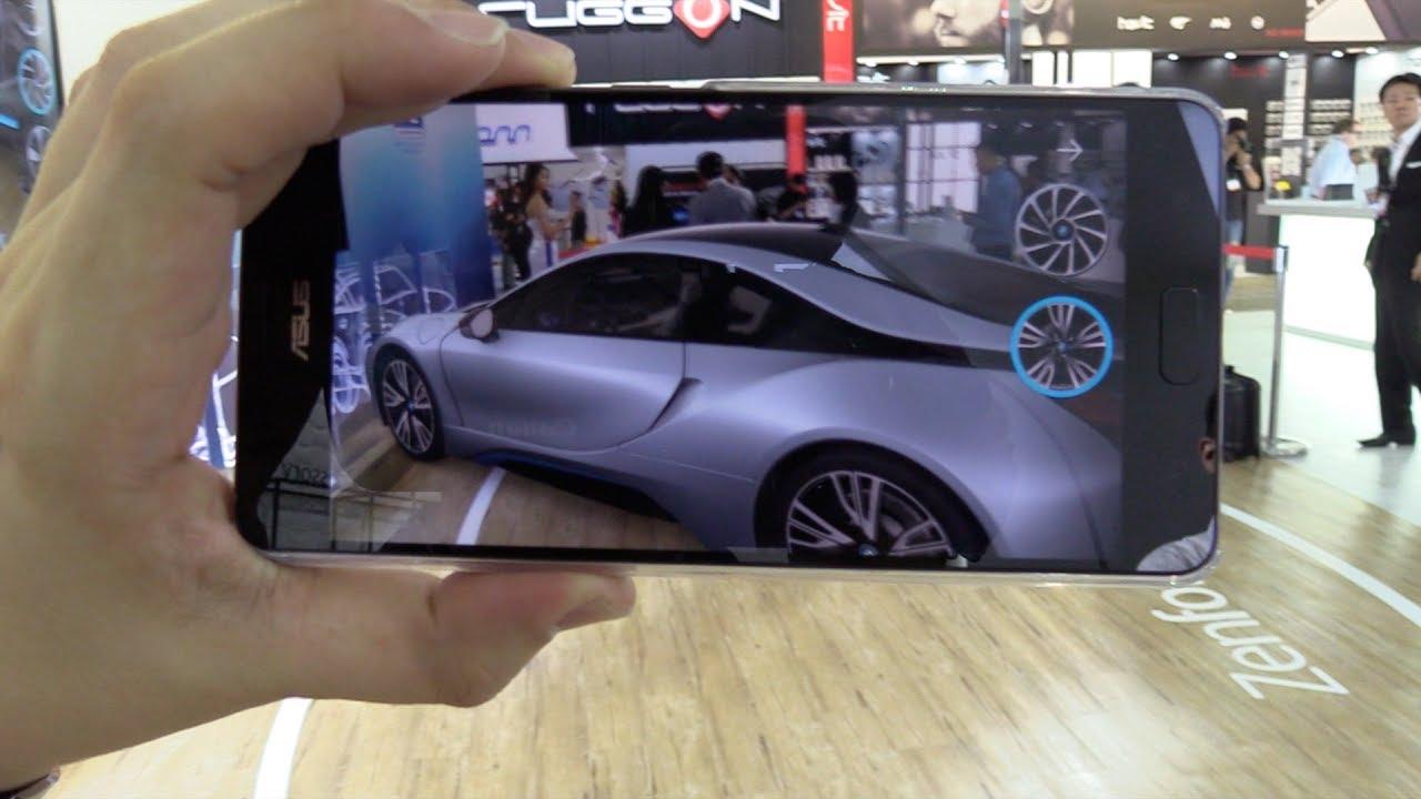 Asus Zenfone Ar Bmw Augmented Reality Demo Youtube