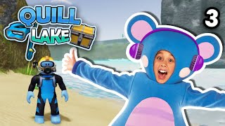 Roblox | Scuba Diving At Quill Lake With Eep EP3 | Mother Goose Club Let's Play