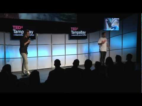 Swings Tampa Bay: Hunter Payne and Reuben Pressman at TEDx TampaBay (The Future of Stories)