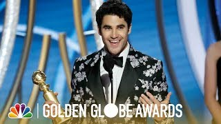Darren Criss Wins Best Actor in a Limited Series - 2019 Golden Globes (Highlight)