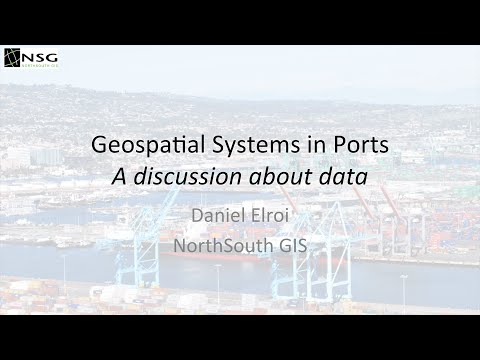 Geospatial Solutions in Ports: The Data View