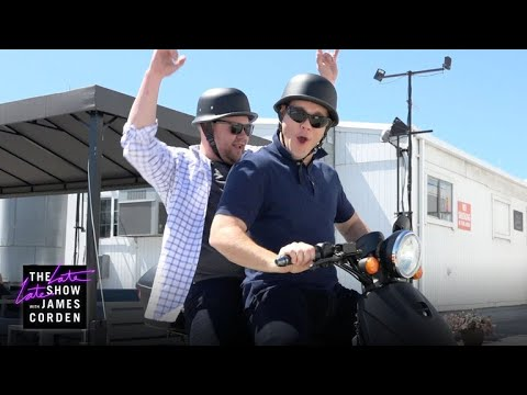 Adam Devine & James Corden's 'Amazing Race' Audition Tape