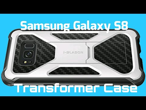 Samsung Galaxy S8 I-BLASON Transformer Case Unboxing